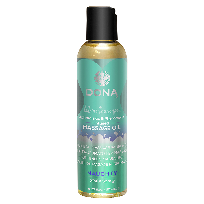 Массажное масло DONA Scented Massage Oil Naughty Aroma Sinful Spring 125 мл