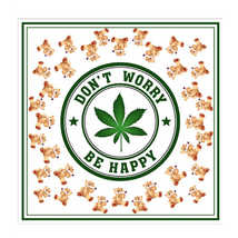 Платок Don`t Worry Be Happy