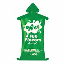 Лубрикант Wet Fun Flavors Watermelon Blast подушечка, 10 мл