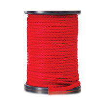 Веревка для связывания 61м Bondage Rope Red, красная