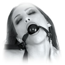 Кляп в рот Beginner's Ball Gag черный PD4412-23