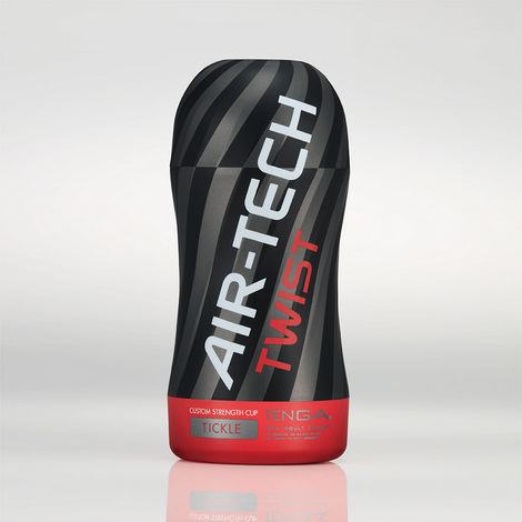 Мастурбатор Tenga Air-Tech Twist Tickle, серый