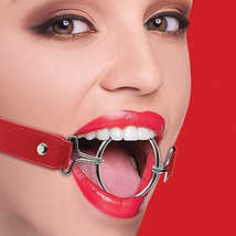 Кляп OUCH! Ring Gag XL Red, красный