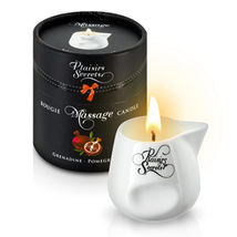 Свеча с массажным маслом аромат спелого граната Massage Candle Pomegranate, 80 мл.