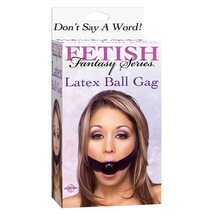 Кляп FF Latex Ball Gag, черный