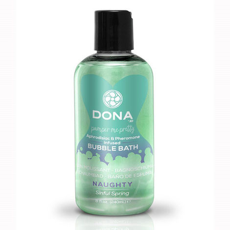 Пена для ванн DONA Bubble Bath Naughty Aroma: Sinful Spring 240 мл