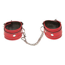 Красные наручи X-play Love Chain Wrist Cuffs Red