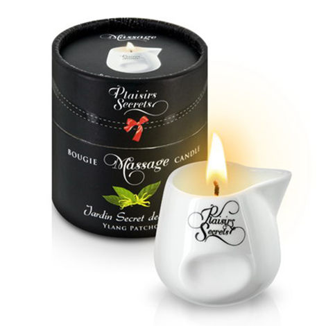 Свеча с массажным маслом Иланг-Иланг/Пачули Massage Candle Des Ylang/Patchouli, 80 мл