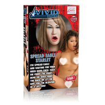 Кукла Vivid Raw Spread Eagle Starlet телесная